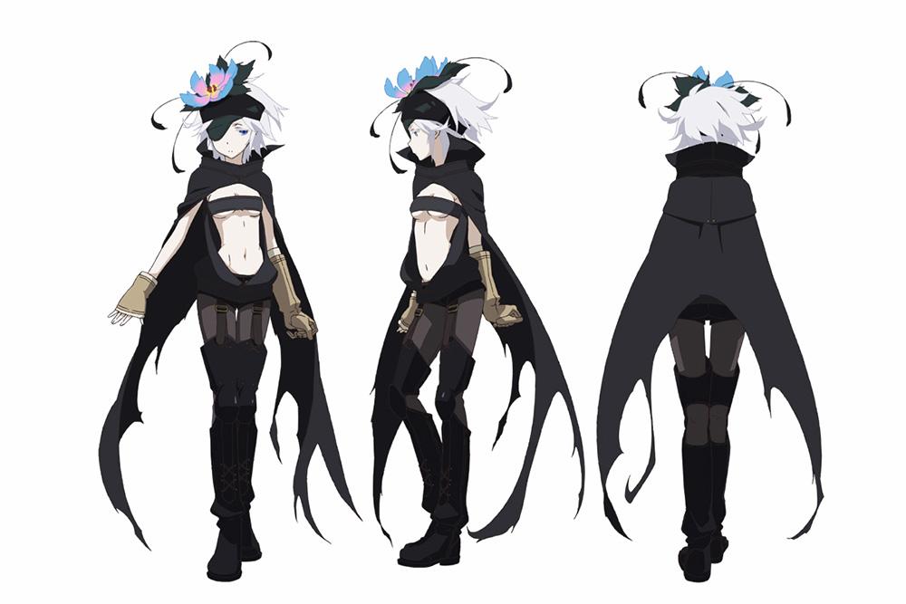 Coolest Anime Character Design : Rokka no yuusha anime character designs revealed otaku tale