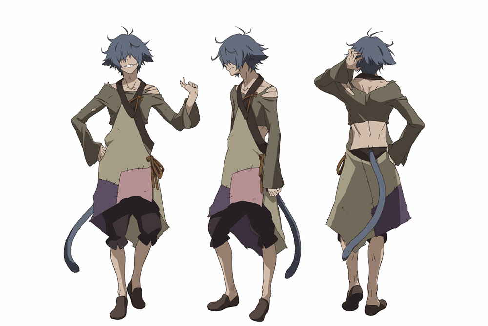 Anime Boy Character Design : Rokka no yuusha anime character designs revealed otaku tale