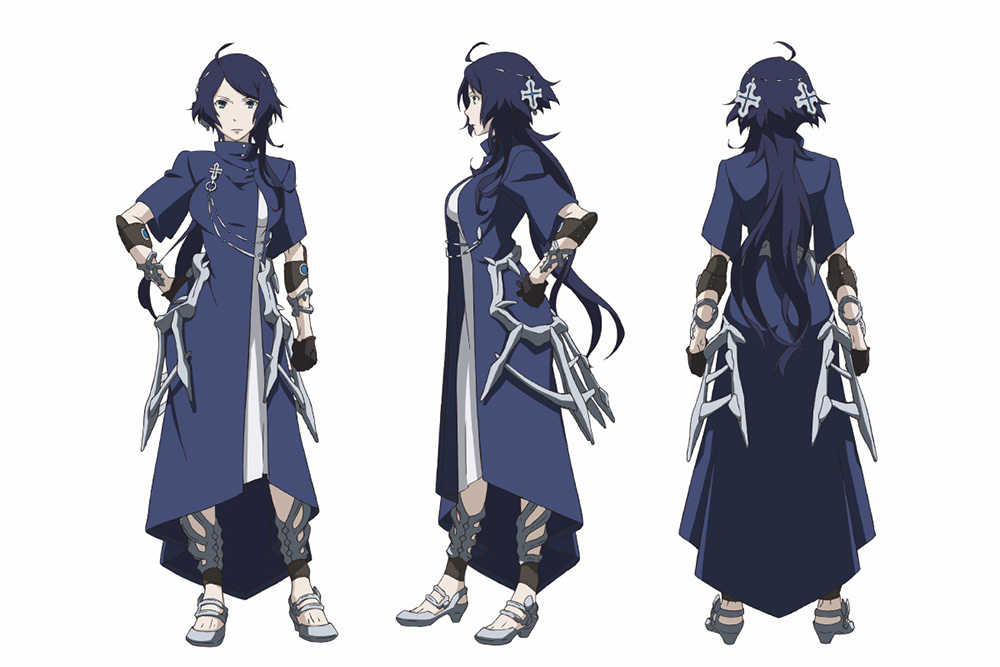 Character Design Manga : Rokka no yuusha anime character designs revealed otaku tale